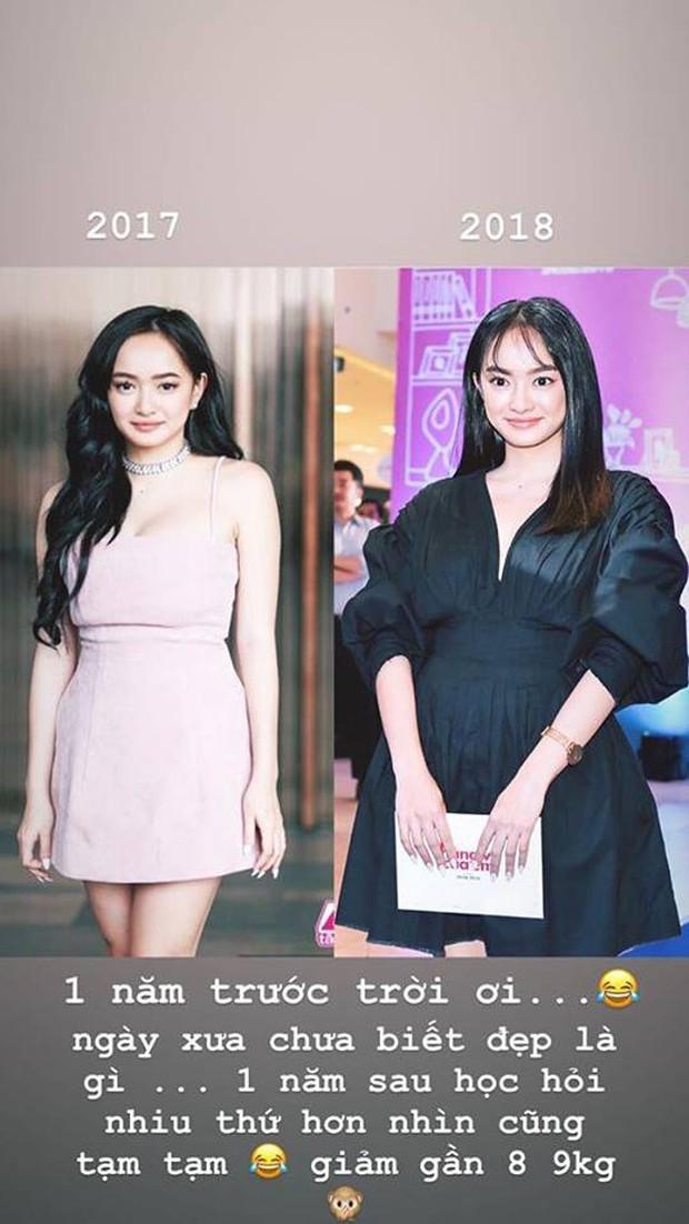 Hành trình nhan sắc của Kaity Nguyễn: Từ hotgirl ngực khủng đến ngọc nữ, lột xác ngoạn mục nhờ giảm 9kg - Ảnh 11.