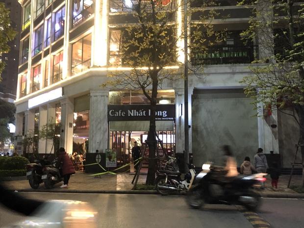 Hà Nội: Người đàn ông đang uống cà phê thì đi lên tầng 5 rồi nhảy xuống - Ảnh 1.