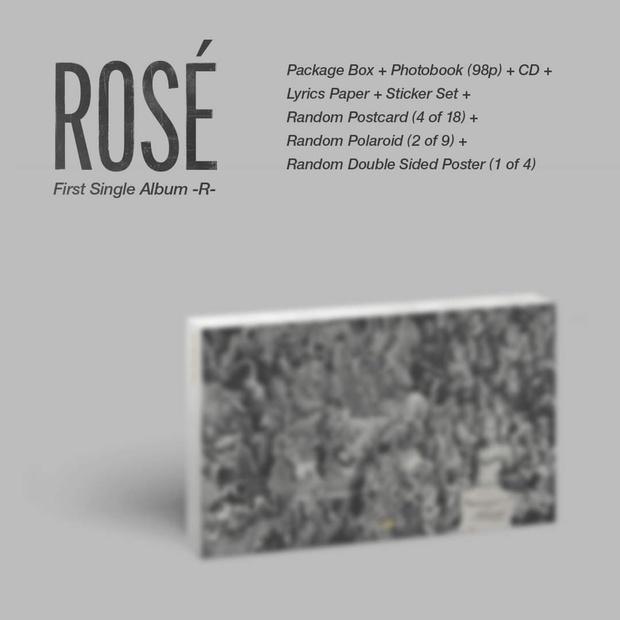 Đã có thể chốt đơn album solo của Rosé (BLACKPINK): Màu đen - trắng chủ đạo do chính chủ thiết kế, có cả bản đĩa than xịn xò! - Ảnh 3.