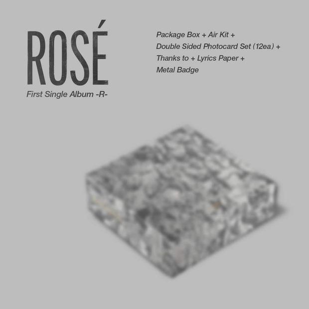 Đã có thể chốt đơn album solo của Rosé (BLACKPINK): Màu đen - trắng chủ đạo do chính chủ thiết kế, có cả bản đĩa than xịn xò! - Ảnh 12.