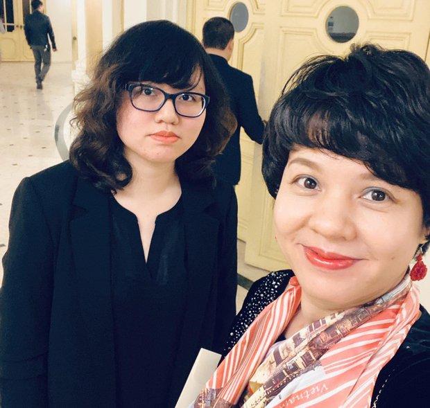 Cậu ấm, cô chiêu nhà MC VTV: Con trai Hải Đăng của Lại Văn Sâm tài giỏi ai cũng biết, nhưng bất ngờ là học vấn của con gái Diễm Quỳnh, Tạ Bích Loan - Ảnh 8.