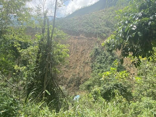Đà Nẵng: Ô tô tải chở keo mất phanh lật xuống vực đè chết nữ công nhân, tài xế nguy kịch - Ảnh 1.