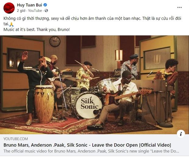 Trở lại sau 2 năm, MV của Bruno Mars được hưởng ứng nhiệt tình, nhiều nghệ sĩ Việt khen lấy khen để: Chuyển điệu mượt như nhung - Ảnh 7.