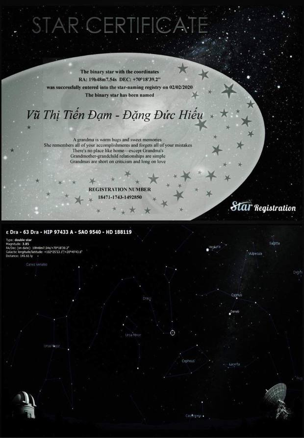 Fan mua hẳn 5 ngôi sao trên trời để tặng Denis Đặng khi chỉ mới nghe sương sương về dự án mới - Ảnh 3.