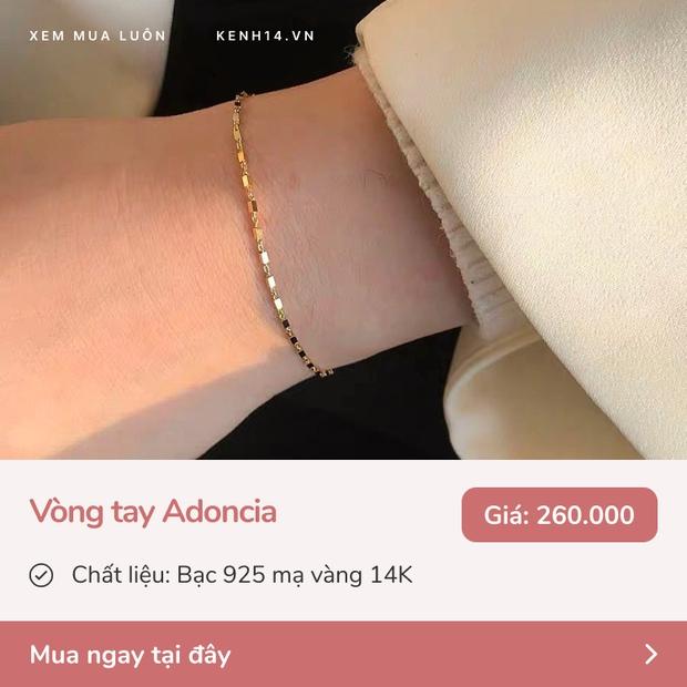 9 mẫu vòng tay, dây chuyền bền - đẹp - xịn trong khoảng giá 260k - 1,7 triệu mua tặng 8/3 là hết ý  - Ảnh 3.