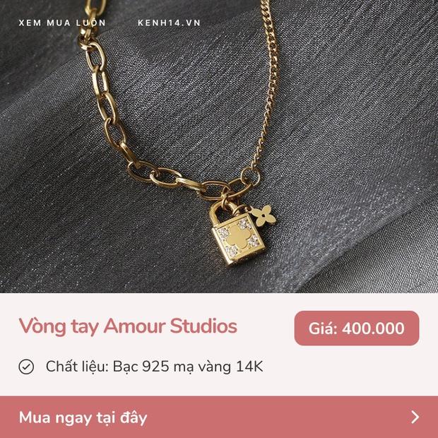 9 mẫu vòng tay, dây chuyền bền - đẹp - xịn trong khoảng giá 260k - 1,7 triệu mua tặng 8/3 là hết ý  - Ảnh 4.
