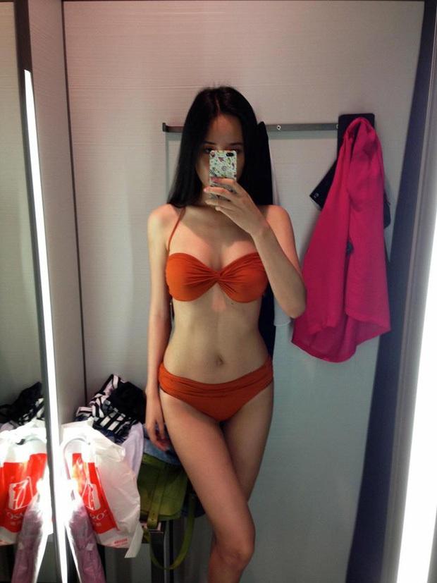 Chỉ qua bức ảnh bikini 2 năm trước, Mai Phương Thuý chứng minh body lột xác ngoạn mục hậu tăng cân, vòng 1 gần 100cm thành tâm điểm! - Ảnh 2.