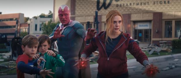 TẬP CUỐI WandaVision: Nữ chính lật kèo phút chót như loạt thuyết âm mưu trước đó, đoạn kết mở ra giai đoạn mới vũ trụ Marvel - Ảnh 9.
