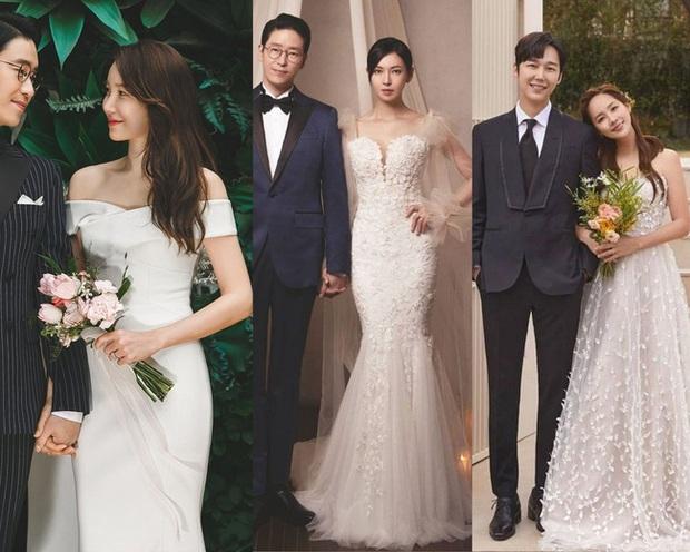 Bộ ba nữ chính Penthouse diện váy cưới: Tiểu tam lồng lộn hết cỡ nhưng có đánh bại được sự tinh tế của bà cả Lee Ji Ah? - Ảnh 13.