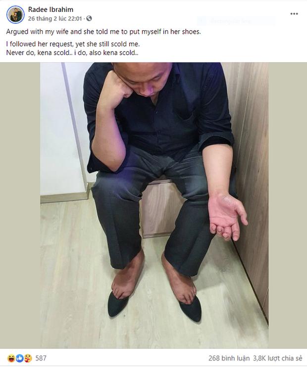 Cãi nhau ỏm tỏi, chồng nhún nhường nghe lời vợ bảo mà vẫn bị mắng, lên Facebook than thở khiến dân mạng cười bò nhưng nể phục vì quá thâm thúy - Ảnh 3.