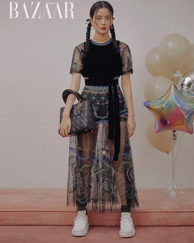 Nóng: Jisoo được Dior tuyên bố danh phận chính thức, một bước thầu chức Đại sứ toàn cầu tận hai mảng - Ảnh 2.