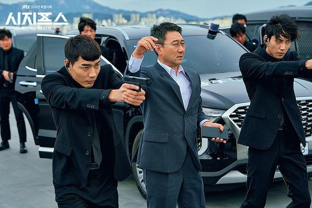 Kỹ xảo 3 xu thêm biểu cảm sượng trân của Park Shin Hye, bảo sao Sisyphus không thua đau ở đường đua phim Hàn - Ảnh 4.