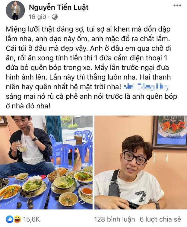 """Tiến Luật đăng đàn """"bóc phốt"""" Huỳnh Phương và Ngô Kiến Huy chiêu trò trốn trả tiền ăn, người trong cuộc tung bằng chứng """"nóng"""" đáp trả! - Ảnh 2."""