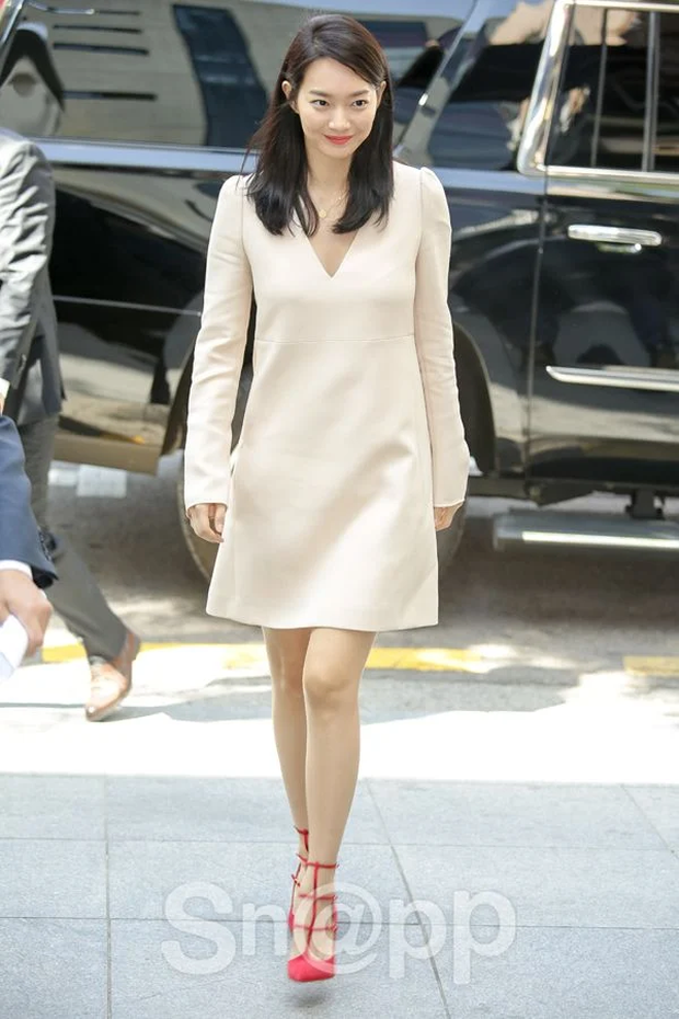 Lạ đời dàn mỹ nhân tăng cân vẫn xinh đẹp hiếm thấy: Shin Min Ah đáng yêu hết nấc, mỹ nhân Quân Vương Bất Diệt được netizen khen nức nở - Ảnh 3.