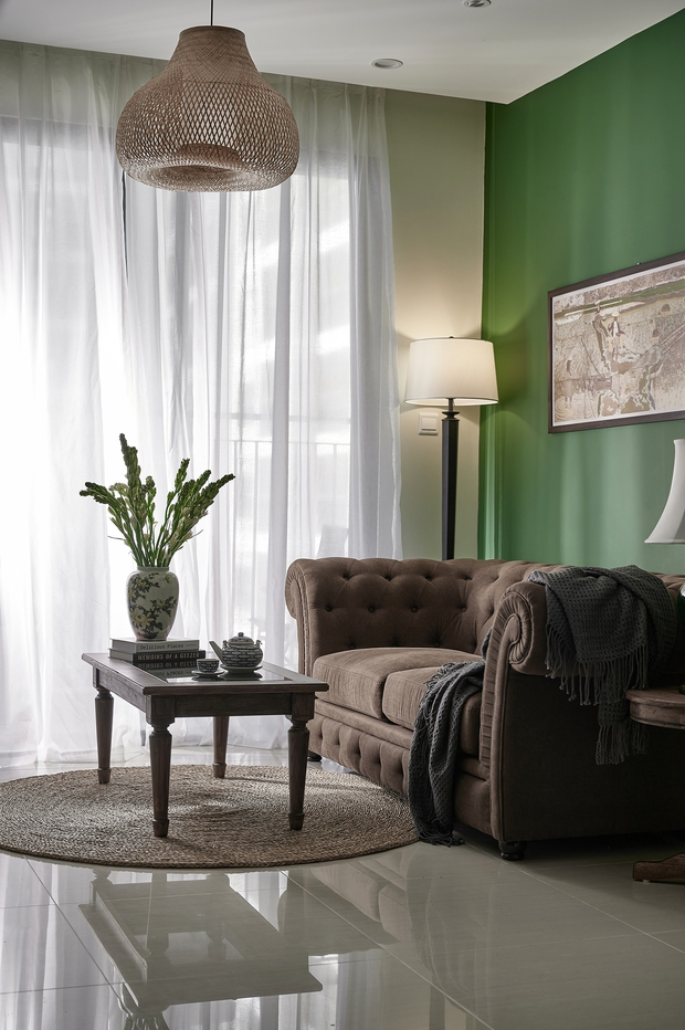 Trai độc thân chi 350 triệu tân trang lại căn hộ Vinhomes, phong cách Indochine hoài cổ khiến ai nhìn cũng mê mẩn - Ảnh 4.
