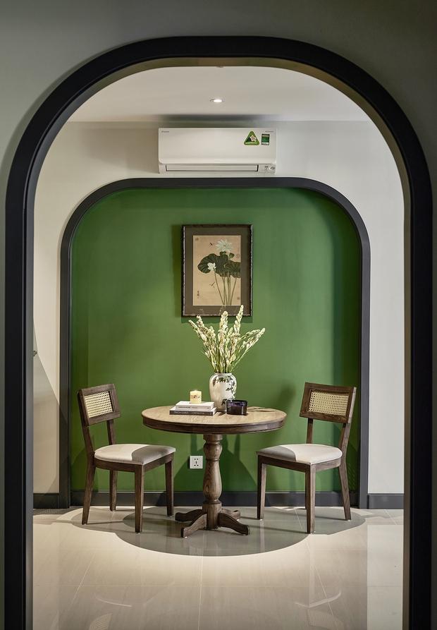 Trai độc thân chi 350 triệu tân trang lại căn hộ Vinhomes, phong cách Indochine hoài cổ khiến ai nhìn cũng mê mẩn - Ảnh 6.