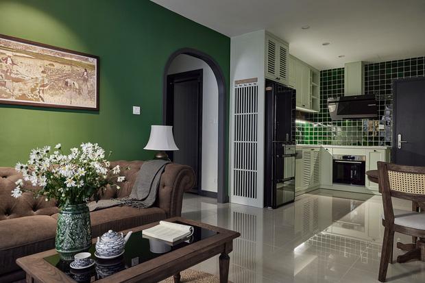 Trai độc thân chi 350 triệu tân trang lại căn hộ Vinhomes, phong cách Indochine hoài cổ khiến ai nhìn cũng mê mẩn - Ảnh 3.
