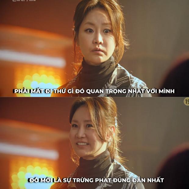Chỉ nói một câu ở tập 5 Penthouse 2, Kang Ma Ri dự đoán trước cái kết bi kịch của con gái Yoon Hee? - Ảnh 3.