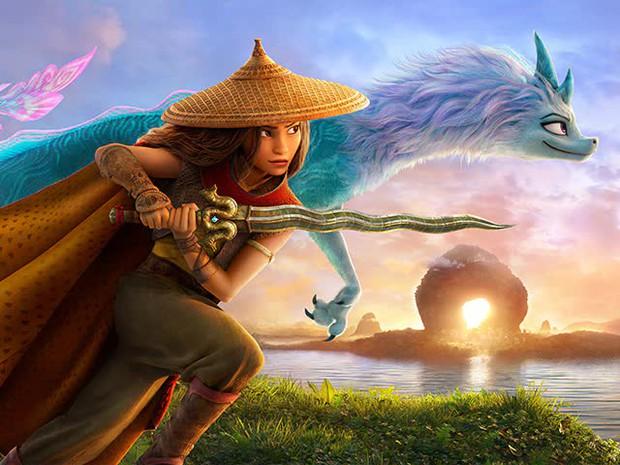 Raya Và Rồng Thần Cuối Cùng: Công chúa Disney gốc Việt múa võ cực hăng chặt phăng mọi đối thủ, có gì mà làm Hollywood mê mệt? - Ảnh 2.