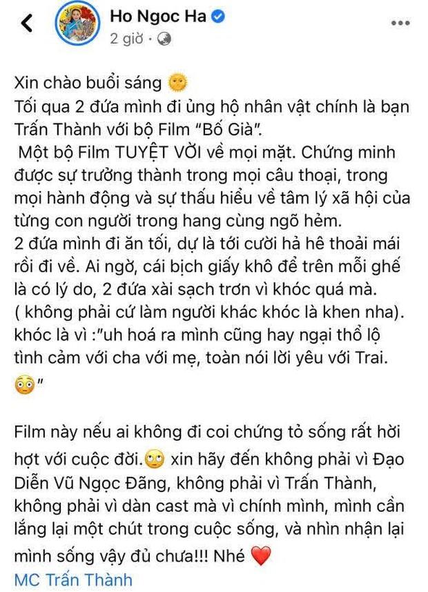 Chi Bảo thẳng thắn nói về câu review gây tranh cãi của Hà Hồ về phim Trấn Thành: Không biết là do viết/copy trùng lặp? - Ảnh 4.