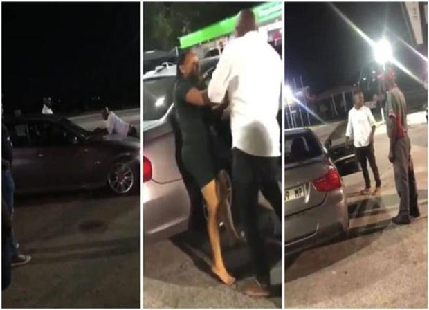 Video: Bị bạn gái chia tay, người đàn ông bám trên nắp ca-pô xe BMW, quyết đòi quà - Ảnh 2.