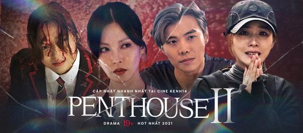Chị đẹp Lee Ji Ah tái xuất, làm bad girl váy ngắn cưỡng hôn Ju Dan Tae trong Penthouse 2 - Ảnh 6.