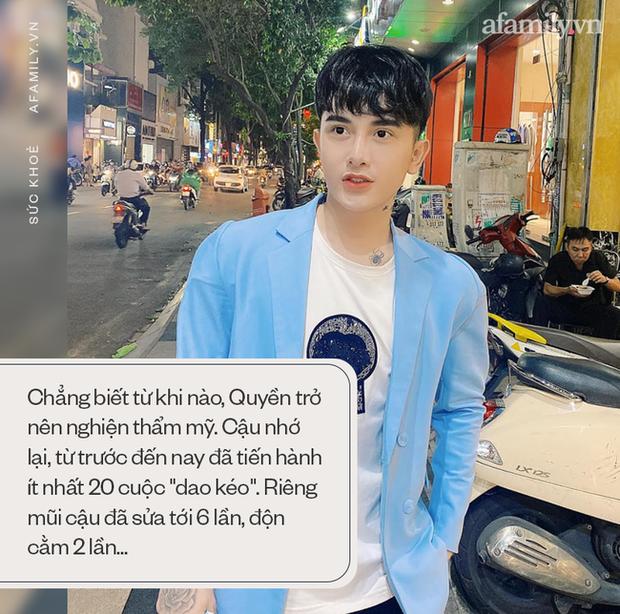 Hành trình lột xác gây chấn động báo Anh của chàng trai Hưng Yên, 25 tuổi đã trải qua hơn 20 lần PTTM khiến cả họ không nhận ra - Ảnh 3.