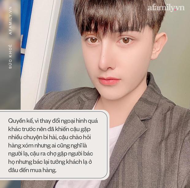 Hành trình lột xác gây chấn động báo Anh của chàng trai Hưng Yên, 25 tuổi đã trải qua hơn 20 lần PTTM khiến cả họ không nhận ra - Ảnh 6.