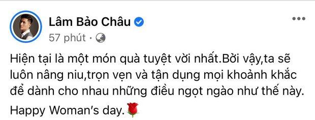 Cuối cùng Lâm Bảo Châu cũng tiết lộ món quà 8/3 đắt giá cho Lệ Quyên, còn dẻo miệng thế này hỏi sao chị đẹp chết mê chết mệt - Ảnh 3.