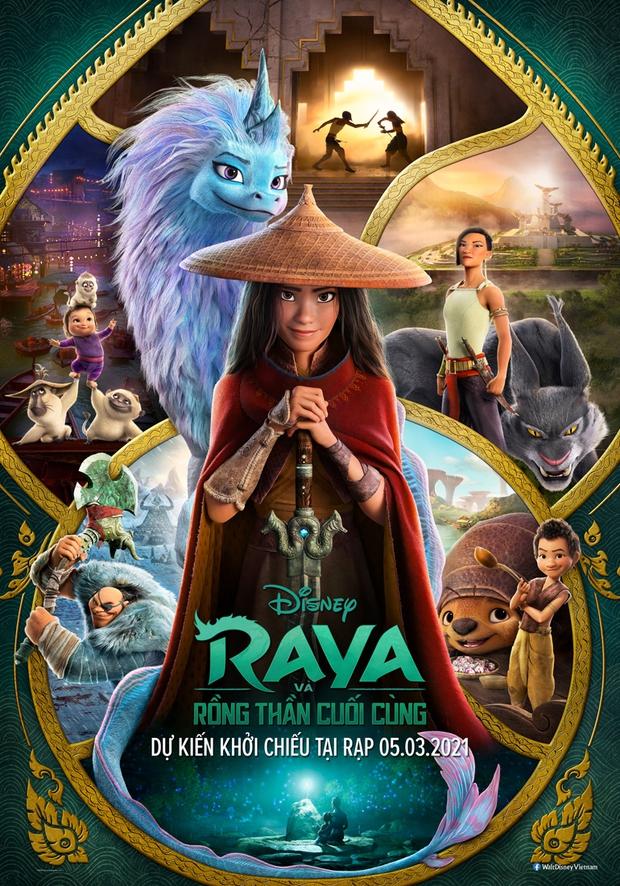 Raya Và Rồng Thần Cuối Cùng: Công chúa Disney gốc Việt múa võ cực hăng chặt phăng mọi đối thủ, có gì mà làm Hollywood mê mệt? - Ảnh 1.