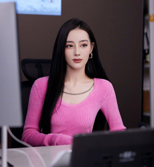 """Netizen hết hồn vì visual khác lạ của Địch Lệ Nhiệt Ba: Là di chứng """"dao kéo"""" hay do makeup quá đà? - Ảnh 5."""