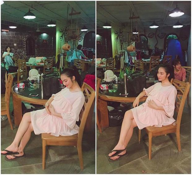 """Hoà Minzy nói rõ thực hư ảnh bụng bầu vượt mặt trong quá khứ, tiết lộ cách """"hack dáng"""" lúc mang thai con đầu lòng - Ảnh 4."""