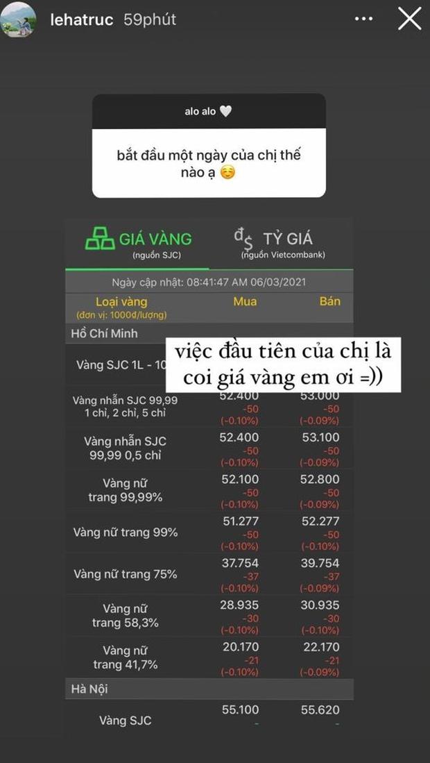 Bạn gái cơ trưởng điển trai nhất Việt Nam khoe xem giá vàng mỗi sáng vì 1 lý do rất mê trai  - Ảnh 3.
