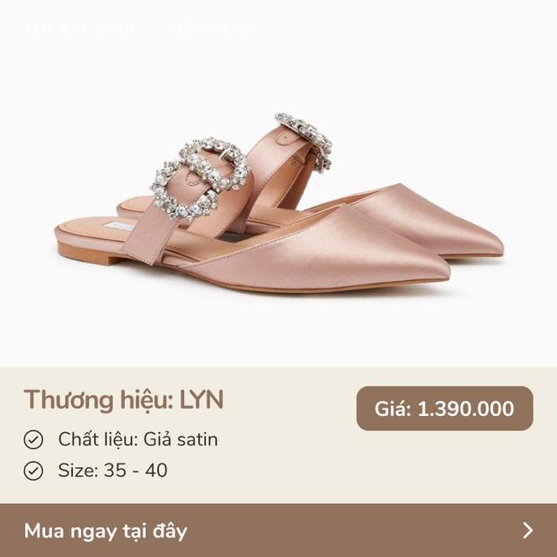 6 đôi giày giá 1,5 triệu quay đầu nhưng sang xịn như đồ hiệu, nàng nào được tặng cũng sướng - Ảnh 4.