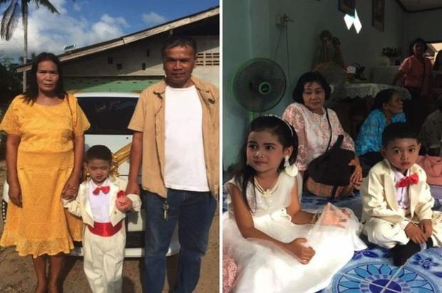 Cô dâu, chú rể nhí 5 tuổi được tổ chức lễ cưới linh đình xôn xao khắp vùng, sự thật về mối quan hệ của chúng là điều không tưởng - Ảnh 1.