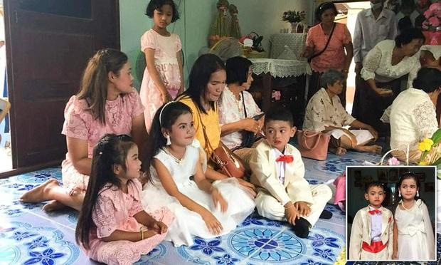 Cô dâu, chú rể nhí 5 tuổi được tổ chức lễ cưới linh đình xôn xao khắp vùng, sự thật về mối quan hệ của chúng là điều không tưởng - Ảnh 2.