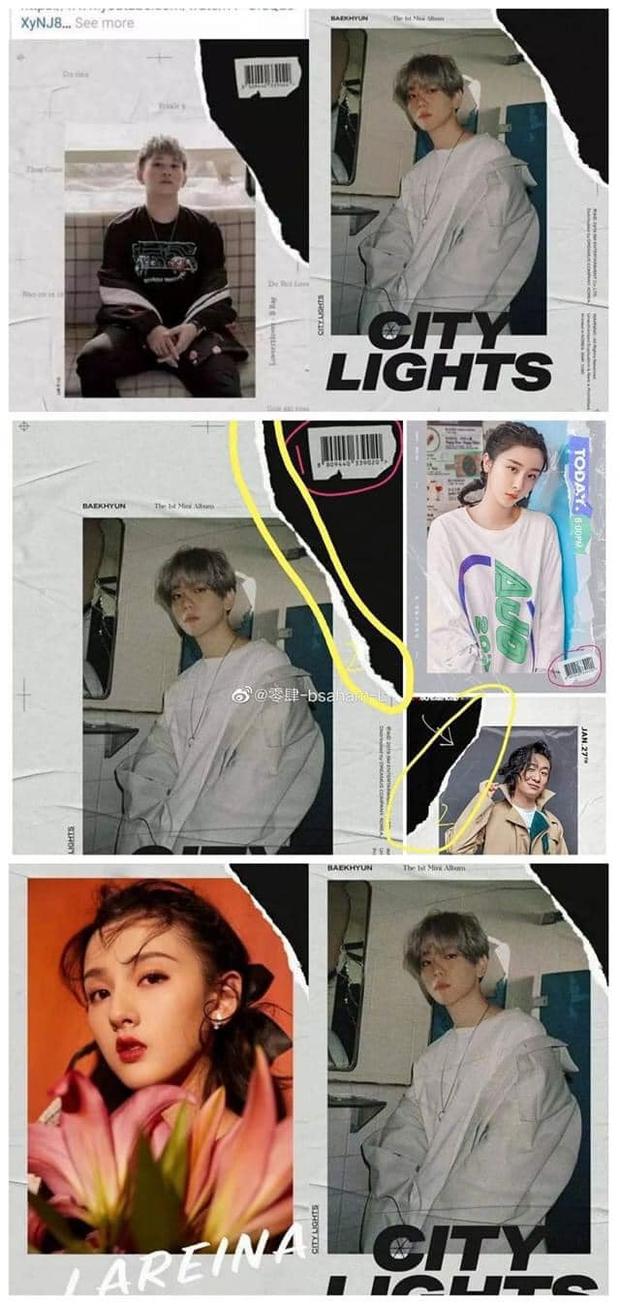 Bìa album hot nhất Kpop thuộc về nhà SM: Bị đạo nhái liên tục, từ B Ray đến thí sinh Thanh Xuân Có Bạn đều dính - Ảnh 3.