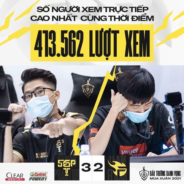 Đấu Trường Danh Vọng thiết lập kỷ lục chưa từng có trong ngày siêu kinh điển giữa Saigon Phantom và Team Flash - Ảnh 4.