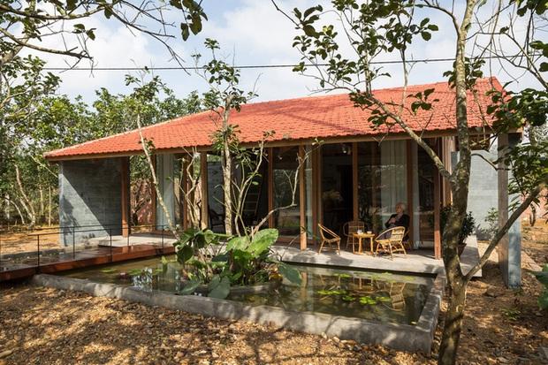 Huế: Ngôi nhà gỗ nằm trọn trong khu vườn ngập tràn hoa bưởi đẹp lạ trên báo Mỹ - Ảnh 2.