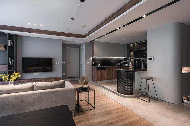 Vợ chồng trẻ mua 2 căn hộ Vinhomes để đập thông thành 1 căn lớn, thiết kế tối giản nhưng sang miễn bàn - Ảnh 2.