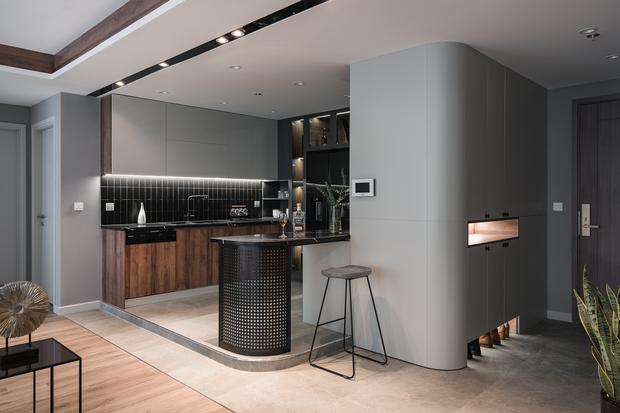 Vợ chồng trẻ mua 2 căn hộ Vinhomes để đập thông thành 1 căn lớn, thiết kế tối giản nhưng sang miễn bàn - Ảnh 6.