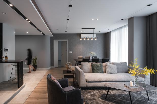 Vợ chồng trẻ mua 2 căn hộ Vinhomes để đập thông thành 1 căn lớn, thiết kế tối giản nhưng sang miễn bàn - Ảnh 3.