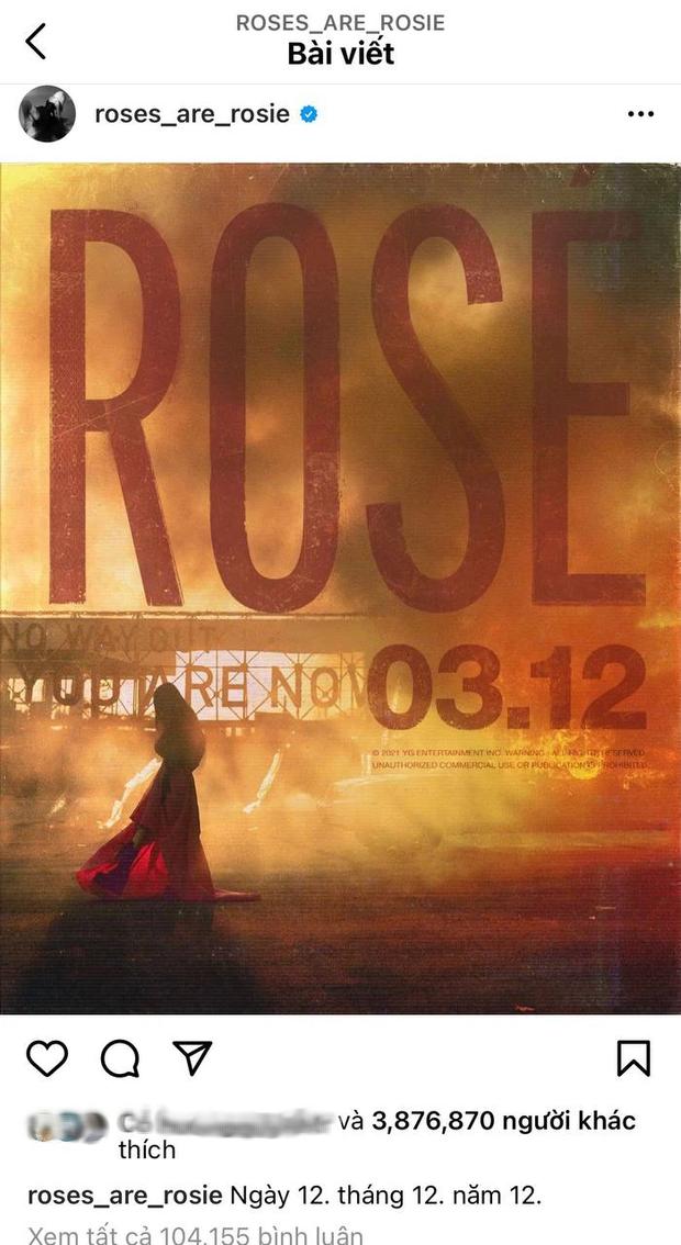Đang yên đang lành, chính Rosé (BLACKPINK) lại thông báo với fan Việt đổi ngày ra mắt thành 12/12 là sao đây? - Ảnh 3.