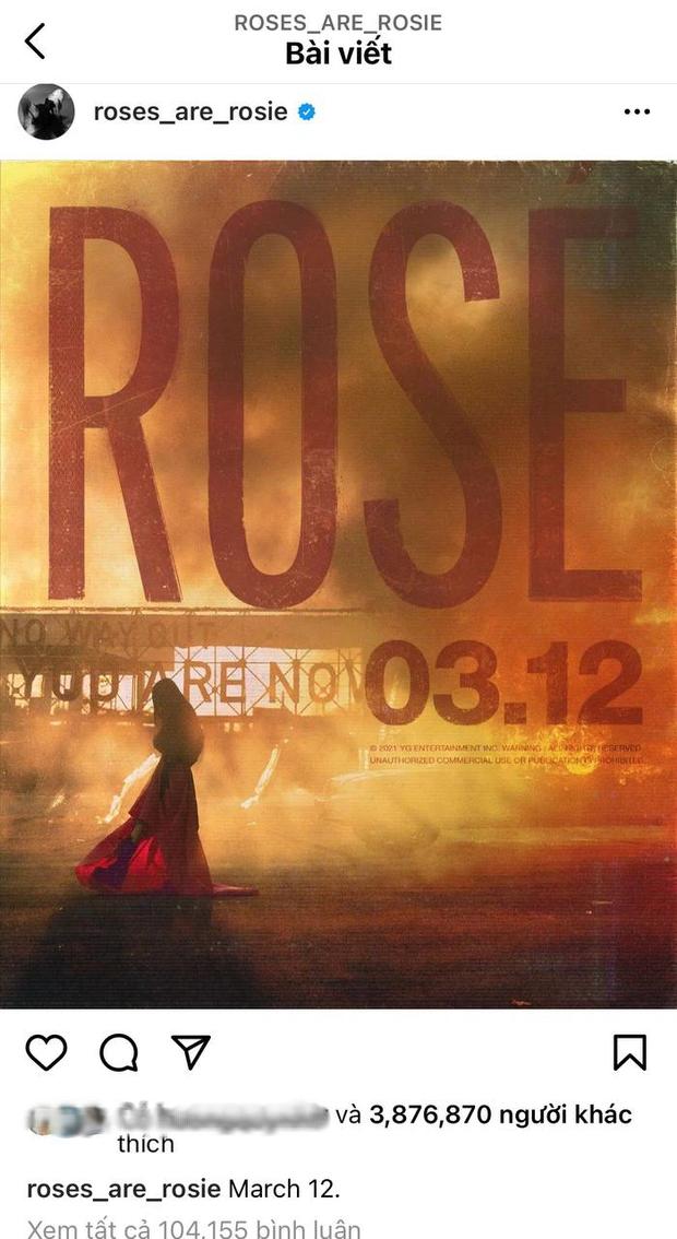Đang yên đang lành, chính Rosé (BLACKPINK) lại thông báo với fan Việt đổi ngày ra mắt thành 12/12 là sao đây? - Ảnh 5.