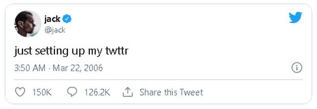 Nhà sáng lập Twitter rao bán dòng tweet đầu tiên dưới dạng token độc nhất, đã có người trả giá tới 2,5 triệu USD - Ảnh 2.
