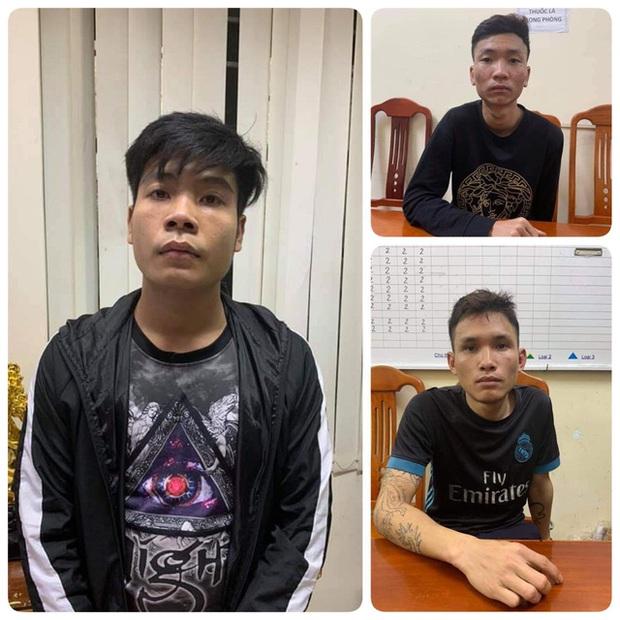 Bắc Giang: Bắt 3 đối tượng cướp tài sản người đi đường giữa đêm - Ảnh 1.