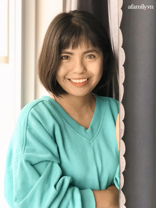 Thạch Thị Sa Pa - Nữ sinh người Chăm với đôi mắt 2 màu ma mị hiếm thấy ngày ấy giờ càng xinh xắn, tiết lộ mong muốn sau khi tốt nghiệp đại học - Ảnh 5.
