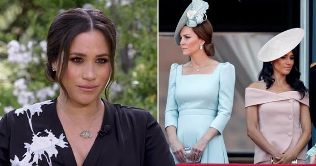 Meghan Markle đấu tố trực diện chị dâu Kate, tiết lộ hàng loạt bí mật gây sốc về Hoàng gia Anh và khẳng định mình bị chèn ép đến trầm cảm - Ảnh 1.