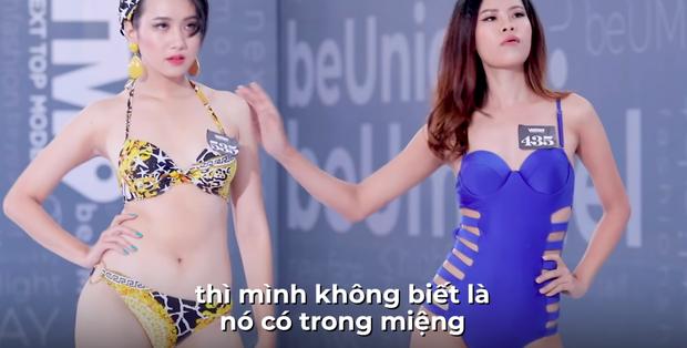 Next Top Model: Nàng Á hậu bị Võ Hoàng Yến dằn mặt cực gắt vì thản nhiên nhai kẹo cao su khi casting - Ảnh 3.