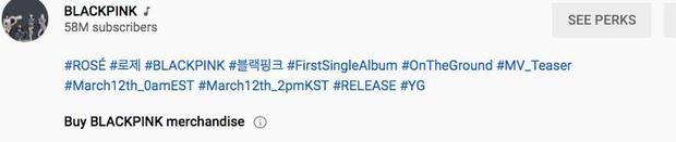 Lượt xem 24h teaser MV của Rosé (BLACKPINK) bất ngờ giảm đến 7 triệu so với b-side, thì ra lỗi là do YG! - Ảnh 6.